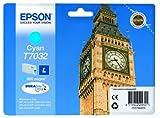 Image of Epson T7032 Standard Capacity Ink Cartridge - Cyan