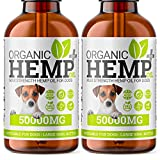 DOG Hemp Oil | 2x Bottle | <span class='highlight'>Pets</span> Calming Natural Supplement For Dogs & Cats | Omega 3,6,9 | Made In <span class='highlight'>UK</span>