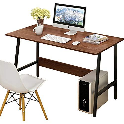 AIYIFU Mesa,Escritorio de Oficina Multifuncional Escritorio de Trabajo Moderno y Simple con Estructura Trapezoidal Resistente para Estación de Trabajo de Oficina en Casa,100 * 45 * 73cm