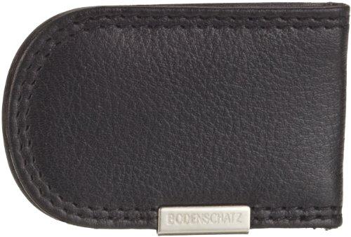 Bodenschatz Kings Nappa 8-572 KN 01, Unisex - Erwachsene Portemonnaies, Schwarz (black), 4x7x1 cm (B x H x T)