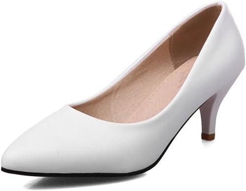 Easemax - schuhe de vestir para damen, Farbe Weiß, Größe 43