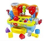 Juego de herramientas para niños y niñas de 18 meses de edad