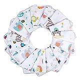 Lictin Baby Musselin Waschlappen 15 Stück Baby...