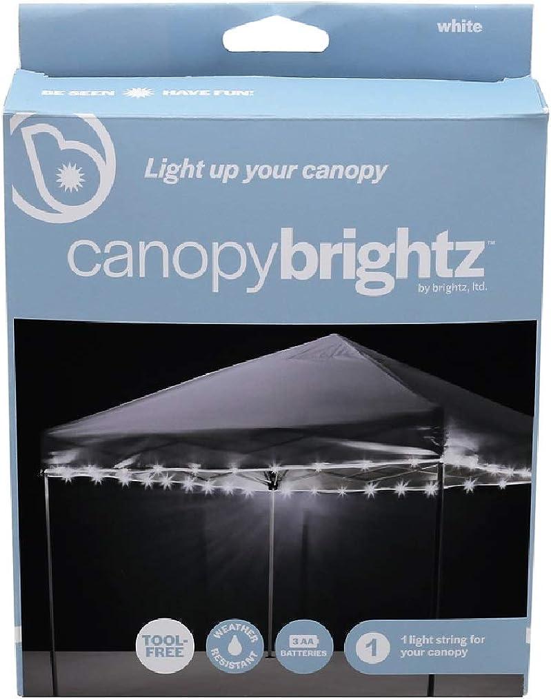 Brightz P1666 Canopy and Patio Umbrella Lighting, White