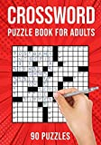 Crossword Puzzle Books for Adults: Cross Words Activity Puzzlebook   90 Puzzles (US Version)