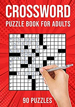 Crossword Puzzle Books for Adults  Cross Words Activity Puzzlebook   90 Puzzles  US Version