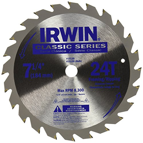 IRWIN Tools Classic Series Steel Corded Circular Saw Blade