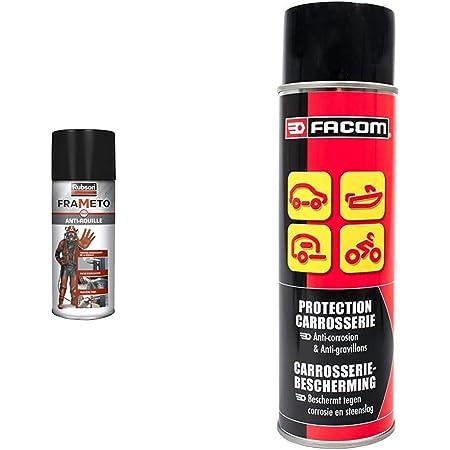 Rubson Frameto Stop-Rouille, Traitement antirouille pour intérieur et extérieur, Convertisseur de rouille à effet immédiat, 400 ml & Facom 006054 Protection Carrosserie 500 ml