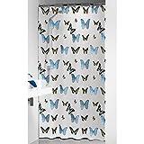Sealskin Duschvorhang Butterfly, B x H: 180 x 200 cm