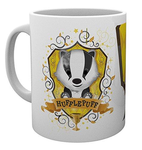 GB eye Ltd Harry Potter, Hufflepuff Farbe, Tasse, Keramik, Verschiedene, 15x 10x 9cm