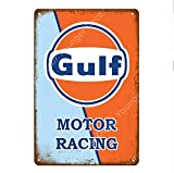 shovv Auto Racing Team Vintage Metallplatten Bar Cafe Pub