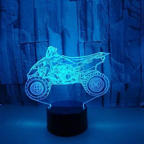 3D illusie lamp kleurverandering nachtkastje nachtlampje muis ballon eland geschikt voor kinderen / jongens / familie / slaapkamer (Valentijnsdag / Kerstmis / Zwarte vrijdag)
