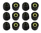 Zotech 6 Pair Memory Foam Replacement Earbuds, Ear Tips for JayBird BlueBuds X, X2 & X3 Sport Headphones (Medium)