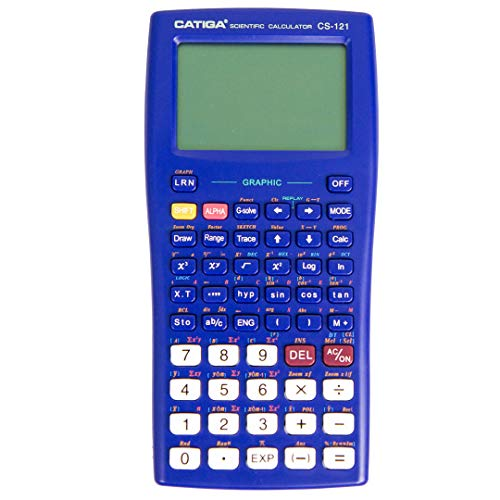 Scientific Graphic Calculator - CATIGA CS121 - Scientific and Engineering Calculator - Programmable System (Blue)