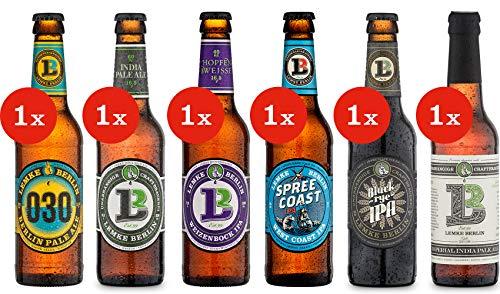 LEMKE Berlin IPA Bros. | Bier Mix Box Pale Ale + India Pale Ale (6 x 0,33l) Craft Bier, Craft Beer
