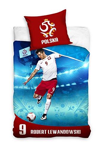 Robert Lewandowski PZPN162001 Fußball Bettwäsche 140 x 200 cm