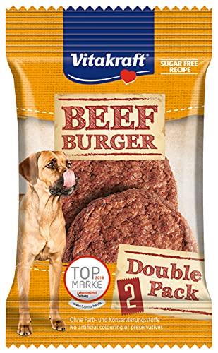 Vitakraft przekąska dla psów, burgery, przepis bez cukru, burger wołowy, 23296, 4 sztuki