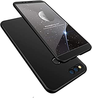 COTDINFORCA Huawei Honor 7X Case, 3 in 1 Ultra Thin Hard PC Case Premium Slim 360 Degree Full Body Protective Shockproof Cover for Huawei Mate SE/Huawei Honor 7X.
