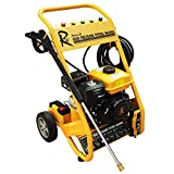 RocwooD 3000 PSI 7HP Electric Start Petrol Power Pressure Jet Washer