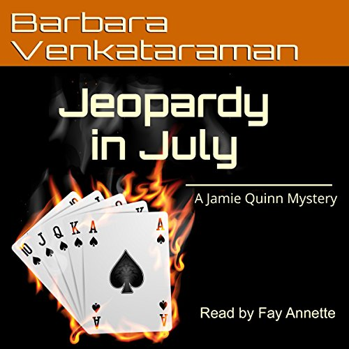 Jeopardy in July Audiobook By Barbara Venkataraman cover art