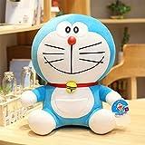 Linrunzi Kawaii Doraemon Plush Toy, Cartoon Anime Plushies, Animal Stuffed Dolls, Great Birthday Gift for Children Boys and Girls, 28cm