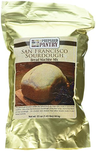 The Prepared Pantry San Francisco Sourdough Gourmet Bread Mix; Single Pack; For Bread Machine or Oven