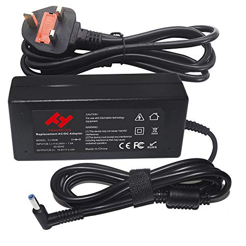 TAYINPLUS 19.5V 3.33A 65W Laptop charger for Hp Pavilion Stream 11 13 14 Notebook AC Power Adapter(4.5x3.0mm)