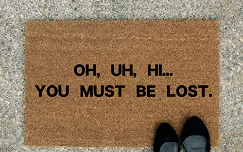 ca4588illa Oh HiYou Must Be Lost Go Away - Felpudo con Humor Antisocial