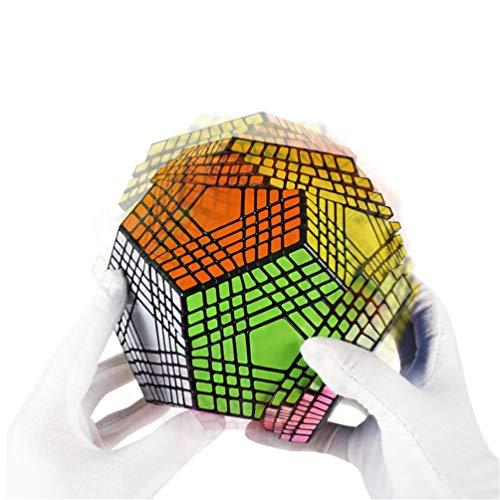 LBFXQ Professioneller Rubix Cube 9x9 Alien Magic Cube, Übung praktizbraune Argumentationsfähigkeiten, für Kinder Erwachsenenbildung Spielzeug
