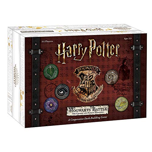 USAOPOLY Harry Potter: Hogwarts Battle - The Charms and Potions Expansion/Second Expansion to Harry Potter Deckbuilding Game/Featuring New Abilities & Cards/Officially Licensed Harry Potter Game