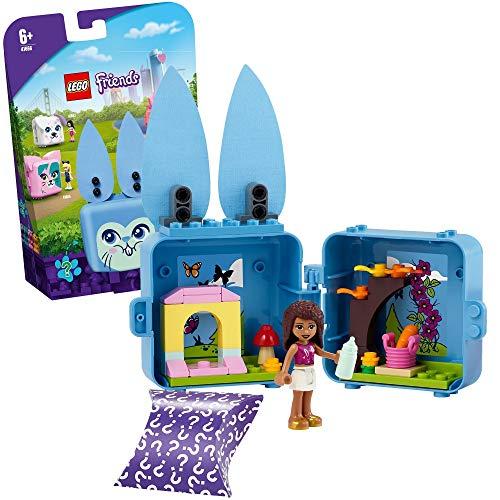 LEGO 41666 Friends Magische Würfel Andreas Häschen-Würfel Mini-Set Serie 4, Spielzeug für unterwegs, Kinderzimmer-Deko