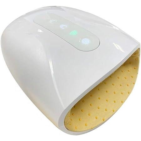 ハンドマッサージャー ハンドケア 手マッサージ機 ヒーター機能搭載 USB充電 3つモード 2段階温度調節 マッサージ機 ワイヤレス 振動 男女兼用 ストレス解消 ホワイト