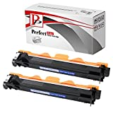 PerfectPrint - 2 Cartucho de toner compatible TN1050 Laser para Brother DCP-1510 DCP-1512 HL-1110 HL-1112 MFC-1810