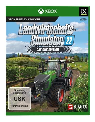 Landwirtschafts-Simulator 22: Day One Edition (exklusiv bei Amazon) - [Xbox One|Xbox Series X]