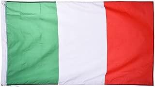 Bandiera dell/'Italia con Asta 90 x 60 cm