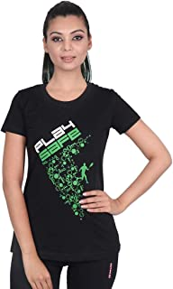 Vector X VTCF-001-A Women's Round Neck T-Shirt (Black)