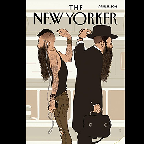 Couverture de The New Yorker, April 11th 2016 (Rachel Aviv, Calvin Tomkins, Charles McGrath)