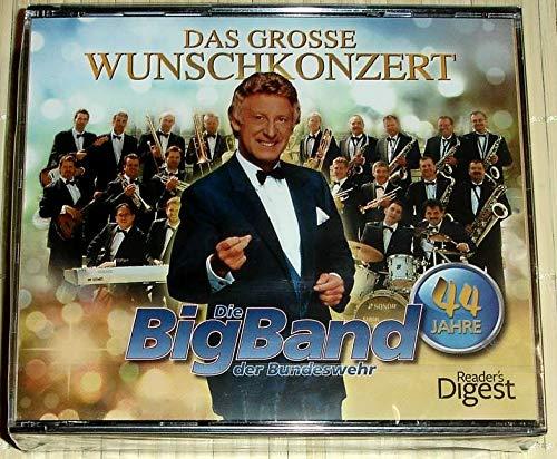 4-CD-Box - DAS GROSSE WUNSCHKONZERT - 44 Jahre Die BigBand der Bundeswehr