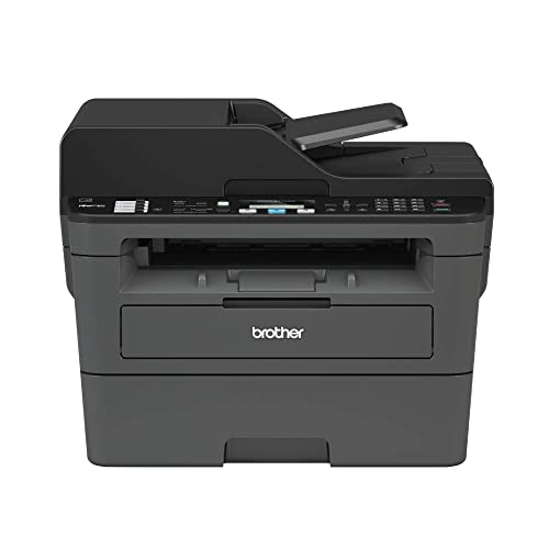 Brother Monochrome Laser Printer, Compact All-In One Printer, Multifunction Printer, MFCL2710DW, Wireless Networking and Duplex Printing, Amazon Dash Replenishment Ready