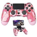 PS4 Controller Wireless Bluetooth Remote Control Joystick Gamepad Pink...
