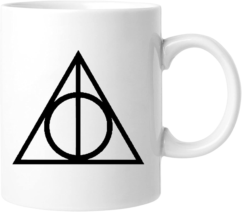 The Death Hallows Coffee Mug  2pcs