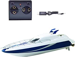yeesport Kids RC Boat 2.4Ghz Electric Wireless Remote Control Boat Remote Control Pool Toy Kids Boat Toy Racing Boat for P...