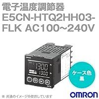 オムロン(OMRON) E5CN-HTQ2HH03-FLK 電子温度調節器 プログラムタイプ 端子台タイプ 単相・三相ヒータ用 AC100~240V ブラック (電圧出力(SSR駆動用)) NN