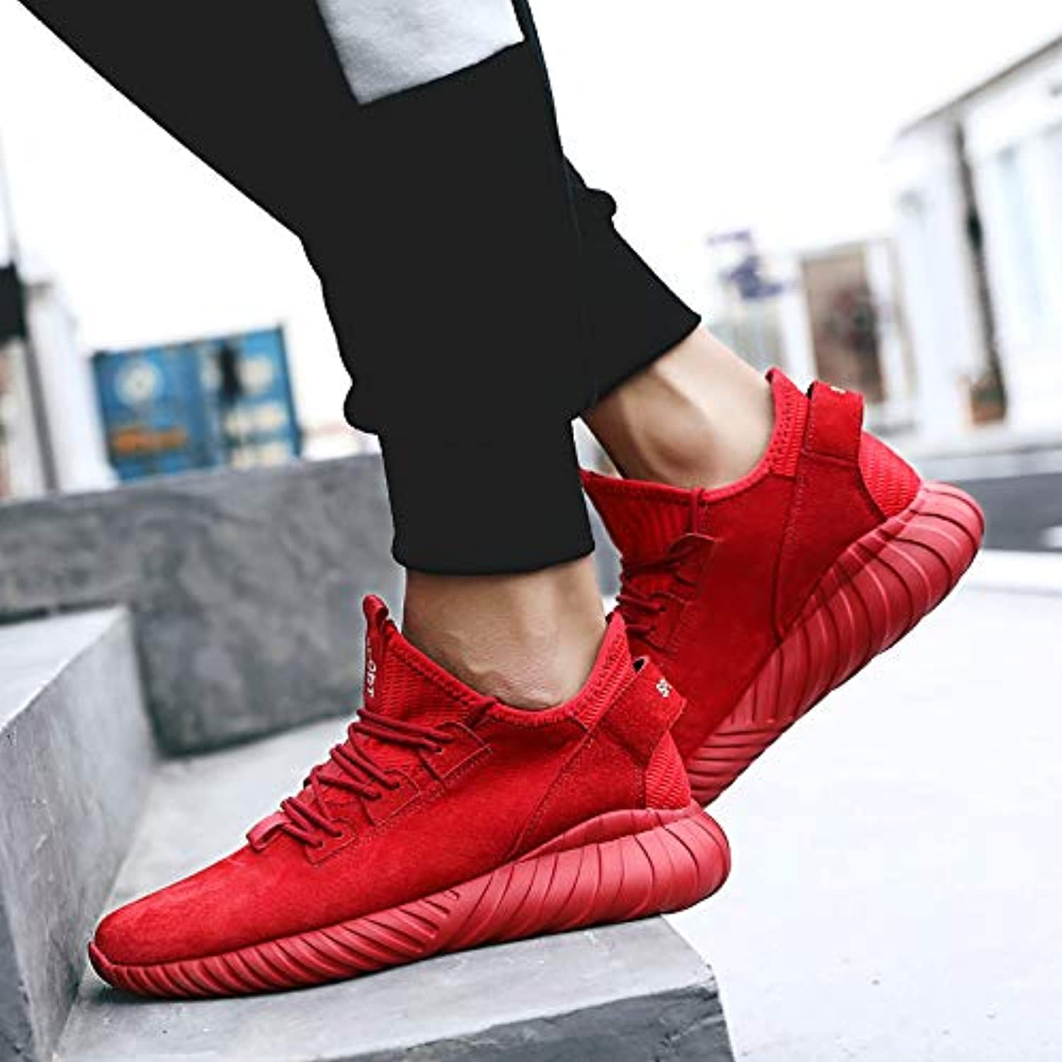 LOVDRAM Men'S shoes Autumn New Sports shoes Men'S Fashion shoes Men'S Fashion shoes Running shoes