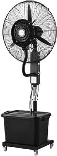 Ventilador de Pedestal Ventilador Industrial Soporte oscilante Ventilador de nebulización Enfriamiento Ventilador Ajustable de 3 velocidades Altura y Alta Potencia Ventilador eléctrico silencioso Au