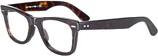 Retro Glasses Frames for Men/Women Optical Eyeglasses with Blue Light Blocking Non Prescription Lens