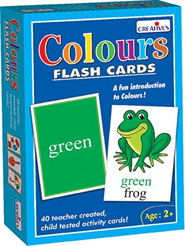 Creative Pre-School - Colours- Flash Cards - (CRE0522)