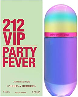 212 VIP Party Fever By Carolina Herrera Eau De Toilette Spray For Women - 80 ml