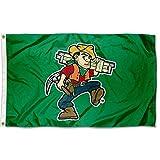 College Flags & Banners Co. Missouri S&T Miners Joe Miner Mascot Flag