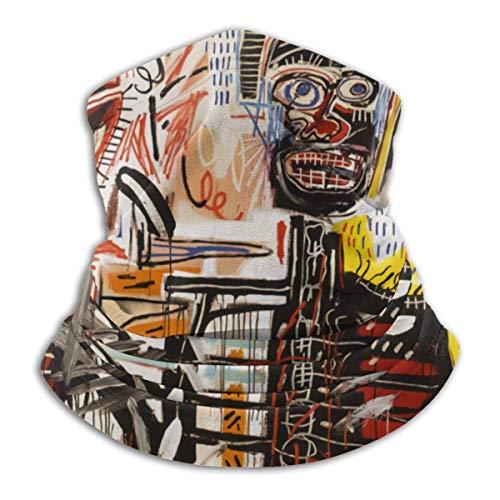 Cbnnzbcm Jean Michel Basquiat Unisex Multifunción Mas-k Microfibra Cuello Calentador Bandana Bufanda Cuello Polaina Pasamontañas